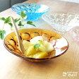 ガラスデザート皿 アンバー ガラス製器..- アデリア/日本製/【HLS_DU】業務用食器