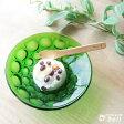 ガラスデザート皿 グリーン ガラス製器..- アデリア/日本製/【HLS_DU】業務用食器