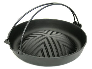 ☆あす楽対応☆人気No.1のジンギスカン鍋!深型穴なしツル付なので初心者にも扱いやすい鍋です...