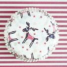 ケーキカップマフィン型ベーキングカップ紙製トナカイ60枚入りパラフィン紙ドイツ製
