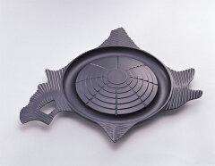 【送料無料】南部鉄器鉄鍋 『北海道型 ジンギスカン鍋』 岩鋳 日本製 23053