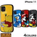 【マラソンクーポン有】 [ネコポス発送] Ray Out iPhone 11 ディズニー 耐衝撃ケース Curve レ……