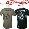 エドハーディー Tシャツ メンズ Ed Hardy ラブキル スカル M02TCHB052-2 エド・ハーディー edhardy タトゥー