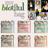 マイビューティフルバッグ MY biotiful bag キャンパス トートバッグ Weekend Bag