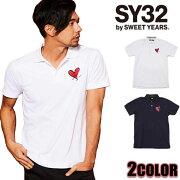 SY32bySWEETYEARSポロシャツメンズ
