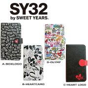 SY32bySWEETYEARS手帳型スマートフォンケース
