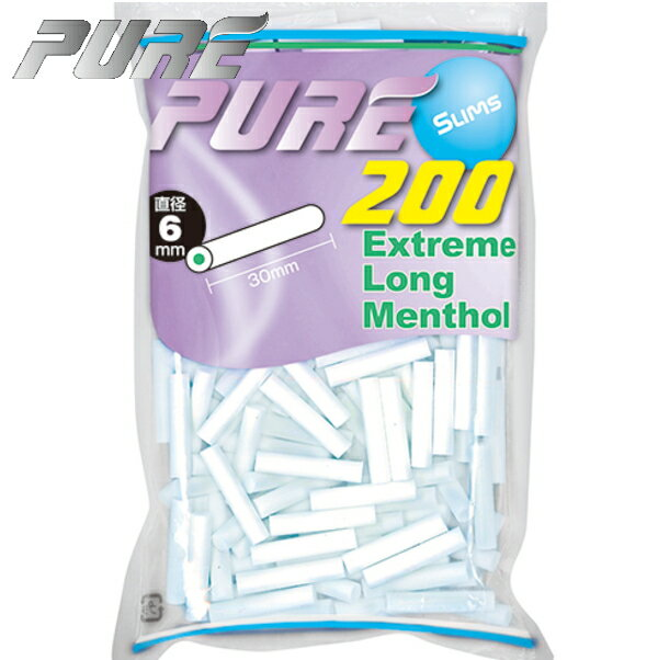 秋山産業『Pure Slims Extreme Long Menthol Filter』