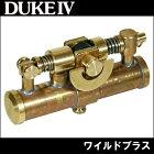 オイルライターDUKEIVデューク4ワイルドブラス変わった形のオイルライター