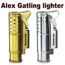 オイルライターアレックスガトリングライター変わった形のオイルライター