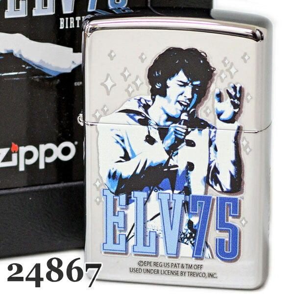 ZIPPOジッポー24867ELVISPRESLEYエルビス75周年記念  7500個  スペシャルパッケージメンズギフト