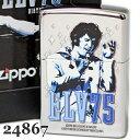 ZIPPOジッポ/ジッポー24867ELVISPRESLEYエルビス75周年記念限定ジッポーライターZippoLighterジッポ/ジッポーzippo