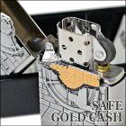 ZIPPOジッポー29555SAFEGOLDCASHEmblem金庫ゴールドエンブレムトリックジッポーライターZippo