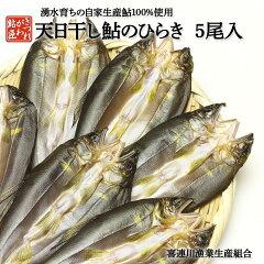 鮎のひらき5尾入鮎の天日干し鮎干物ひもの