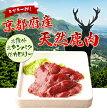 【リピートキャンペーン開催中★エントリーで1000ポイントGET】 天然 鹿肉 (要加熱)しか ジビエ料理 京都