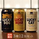 【送料無料 あす楽】黄桜 ラッキーボア限定12缶アソート(350ml×12缶) 9080 ビール ク...