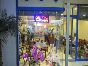 コーヒーオープンLED看板店舗用品LED看板小