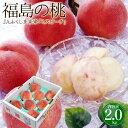 お中元 フルーツギフト 桃 送料無料 福島県産 もも 特秀品 6〜8玉 2kg 糖度12度以上のモモ 果物 フルーツ 訳あり ではありません 御中元