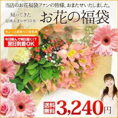 【送料無料】帰ってきたお花の福袋【原体30本入り】