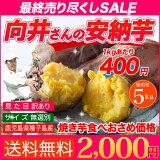 安納芋 種子島産 送料無料 訳あり 無選別 5kg さつまいも 焼き芋 はもちろん干し芋にも 売り尽くしセール