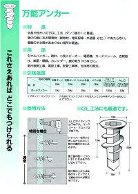 コクサイボードアンカー万能アンカー(簡易梱包1本入)