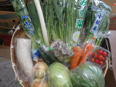 水郷佐原4代目 野菜セット12種類:2,670円