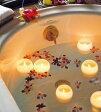 Bath Candle ぷかぷかバスキャンドル  5色セット アロマキャンドル おしゃれプレゼント お風呂 癒し フロートキャンドル