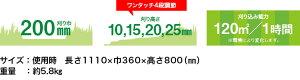 【手動式芝刈機】ナイスバーディーモアーDXGSB-2000NDX