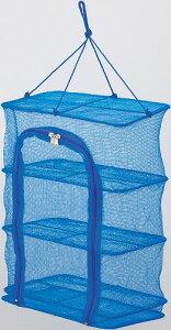 自宅で手軽に干物!干物干し網(ひもの干し網) 3段 サイズ:300×200×400 H-45