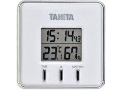 【送料無料メール便専用】タニタ デジタル温湿度計 TT-550 ホワイト