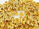 つぶし玉 3mm 200個 ゴールド アクセサリーパーツ ハンドメイドパーツ (AP0606)