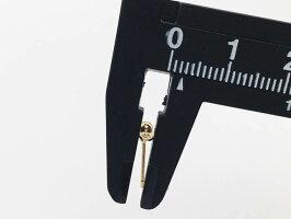 訳あり業務用検品無ピアスパーツゴールドKC金1900個3mm丸玉カン付きハンドメイドパーツアクセサリーパーツAP1814