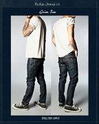 NudieJeans ヌーディージーンズ グリムティム オーガニックドライネイビー