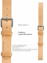 "【NudieJeans""Nicksson-Belt""black】【ヌーディージーンズ正規取り扱い】"