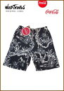 "【Wild Things×Coca-Cola】【Summer-Coke.Sweat】【ワイルドシングス""コカコーラ/Black】"