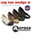 crocsクロックス【cap toe wedge w/キャップトゥウェッジウィメンズ】【クロックス国内正規取り扱い】