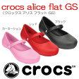 crocsクロックス【crocs alice flat GS/クロックスアリスフラットGS】 【クロックス国内正規取り扱い】
