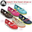 クロックス crocs beach line boat shoe w ビーチラインボートシューウィメン 【クロックス国内正規取り扱い】