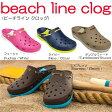 クロックス crocs beach line clog/ビーチライン クロッグクロックス国内正規取り扱い