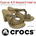����å���crocs��cyprus4.0leopardheelw/�����ץ饹4.0�쥪�ѡ��ɥҡ��륦�����ۡڥ���å�������������갷���ۡ�469531��