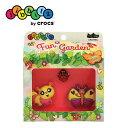 楽天クロックス crocs ジビッツ【fun garden 3PK/ファンガーデン3パック】【クロックス国内正規取り扱い】