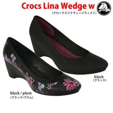 【全品P2倍】crocs クロックス crocs lina wedge w/クロックスリナウェッジウィメン【クロックス国内正規取り扱い】