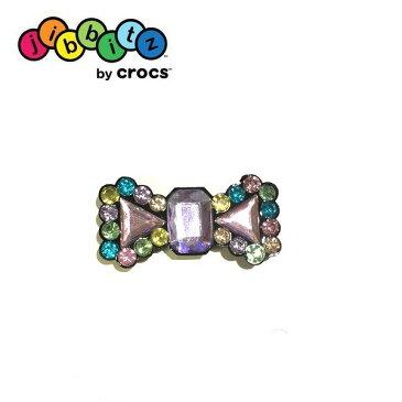 【全品P2倍】クロックス crocs ジビッツ クリスタルボウ【クロックス国内正規取り扱い】