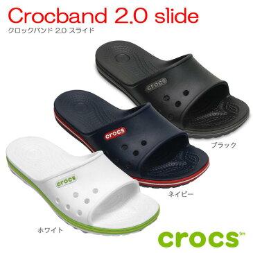 【全品P2倍】クロックス crocscrocband 2.0 slide クロックバンド2.0スライド【クロックス国内正規取扱】