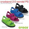 クロックス crocs crocband2.0 sandal PS クロックバンド2.0サンダルPS【クロッ...