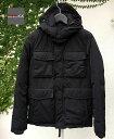 DUVETICA FITARODUE col.999 blackデュベティカ フィタロドゥエ M65 ダウンジャケット イタリア メンズ ブラック