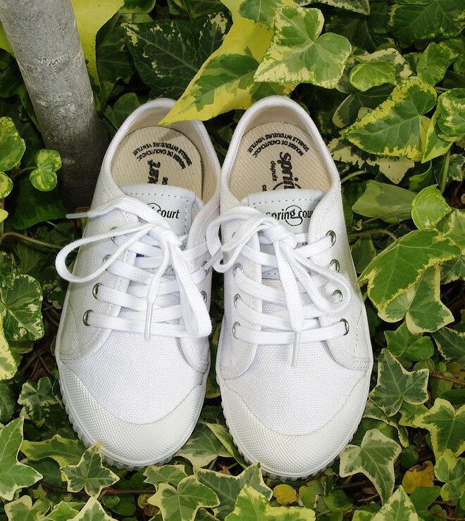 新しくなったG2キッズモデル【SpringCourt-G2/Lo-white】【スプリングコート正規取り扱い】