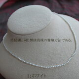 ●池蝶真珠<Oval Shape>2-2.5mm(横幅)各九色 <Excellent Special>Necklace
