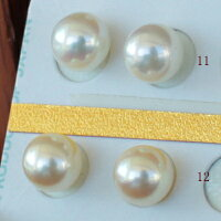 ●アコヤ真珠越し物<ルース>無穴<無調色><Topquality><RoundShape>7.75-8mm×2個直結orブラ<TitanPiace><ExcellentSpecial>SVEGK14WGピアスなどはオプション。選択くださいせ。