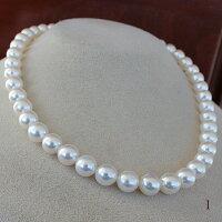 ●アコヤ真珠越し物<無調色><RoundShape>8.5-9mm<ホワイトピンク>丹秀う彩り<ReasonableSpecial>Necklace【値ごろ感】