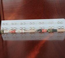 """●アコヤ真珠越し物<無調色><Topquality><RoundShape>6.5-6.75mm×2個直結&8.5-8.75mm×2個ブラW環(脱着可)<TitanPiace>""""装せ替え""""W環直結スタイル<ExcellentSpecial>SVEGK14WGピアスなどは選択くださいせ。"""